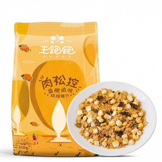 Xiaomi King Full Fleshy Control Crispy And Salty Baked Cereal 500g