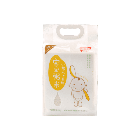 Xiaomi Covered Field Xiaolong People Organic Baby Porridge Rice 2.5kg