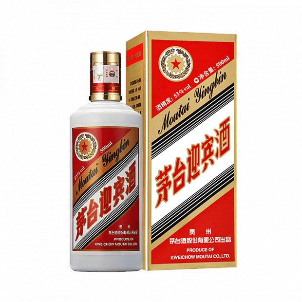 Xiaomi Moutai Welcome Wine Sauce-Flavored Liquor 53° 2013 Version 500ml