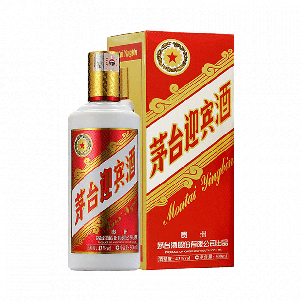 Xiaomi Moutai Welcome Wine Sauce-Flavored Liquor 43° 2013 Version 500ml